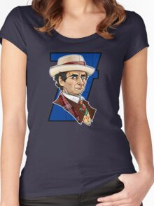 The Seventh Doctor Women's Fitted Scoop T-Shirt
