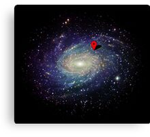 You are here - GPS Canvas Print