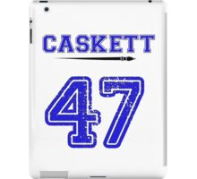 Caskett 47 Jersey iPad Case/Skin