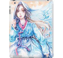 Wavediver - Korean Hanbok Fairytale Manga Illustration Pattern iPad Case/Skin