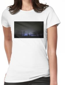 Leave A Light On Womens Fitted T-Shirt