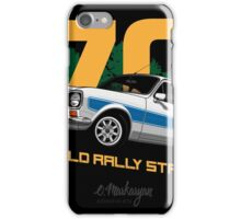 Ford Escort RS1600 (white) iPhone Case/Skin