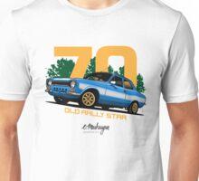 Ford Escort RS1600 (blue) Unisex T-Shirt