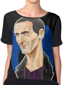 The Ninth Doctor Chiffon Top