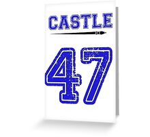 Castle 47 Jersey Greeting Card