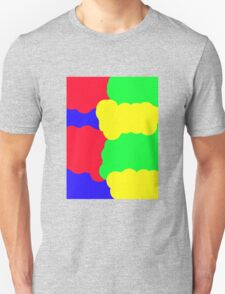 Colorful clouds Unisex T-Shirt
