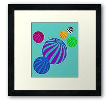 Bubbly... Framed Print