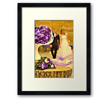 The Joyful Wedding Day Framed Print