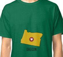Oregon State Heart Classic T-Shirt