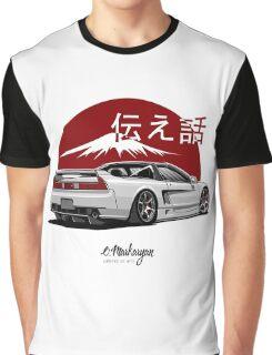 Acura / Honda NSX (white) Graphic T-Shirt