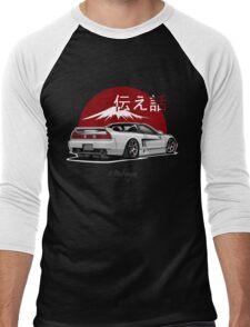 Acura / Honda NSX (white) Men's Baseball ¾ T-Shirt
