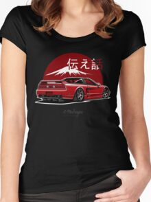 Acura / Honda NSX (red) Women's Fitted Scoop T-Shirt