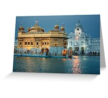 The Golden Temple Greeting Card