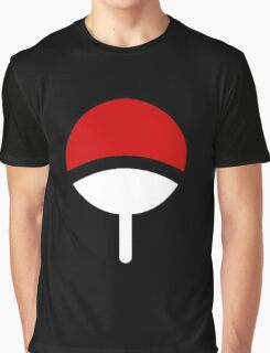 CLAN UCHIHA LOGO Graphic T-Shirt