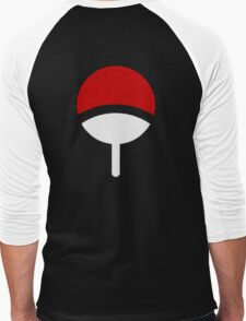 CLAN UCHIHA LOGO Men's Baseball ¾ T-Shirt