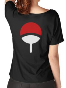 CLAN UCHIHA LOGO Women's Relaxed Fit T-Shirt