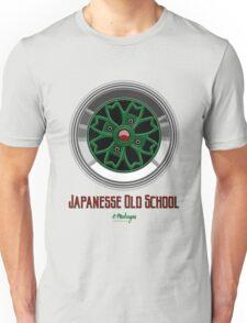 Sakura Wheels Chery Blossom (green) Unisex T-Shirt