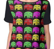 Phone Box Collage (pop art) Chiffon Top