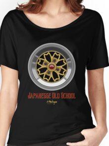 Sakura Wheels Chery Blossom (gold) Women's Relaxed Fit T-Shirt