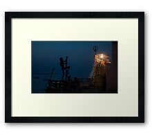 Shivaratri Night  Framed Print