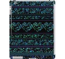 Black Luxury Blue iPad Case/Skin