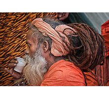Chai for a Sadhu Photographic Print