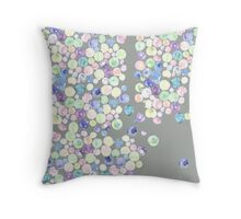 Losing My Marbles Edit Throw Pillow