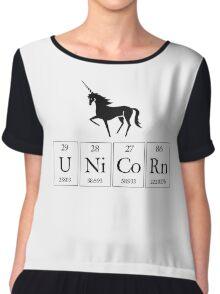 Periodic Unicorn  Chiffon Top