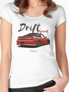 Nissan Silvia S13, 200SX, 240SX (red) Women's Fitted Scoop T-Shirt
