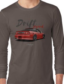 Nissan Silvia S13, 200SX, 240SX (red) Long Sleeve T-Shirt