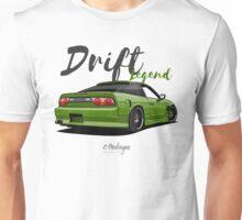 Nissan Nissan Silvia S13, 200SX, 240SX (green) Unisex T-Shirt