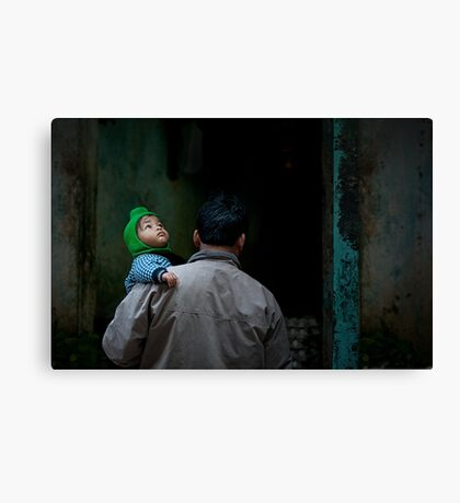 Looking up ... Canvas Print
