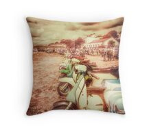 Exmouth Scooter Rally 2016 Throw Pillow