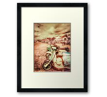Exmouth Scooter Rally 2016 Framed Print