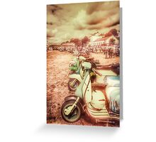 Exmouth Scooter Rally 2016 Greeting Card