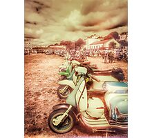 Exmouth Scooter Rally 2016 Photographic Print