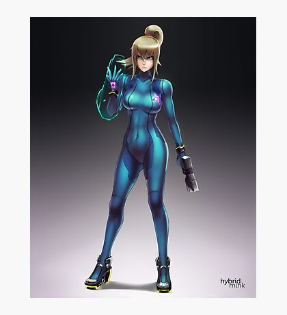 Zero Suit Samus 2014 Photographic Print