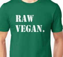 Raw Vegan Unisex T-Shirt