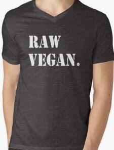 Raw Vegan Mens V-Neck T-Shirt