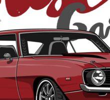 Muscle Garage. Camaro SS 1969 (red) Sticker