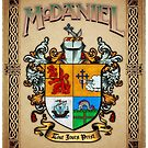 McDaniel coat of arms by Adam McDaniel