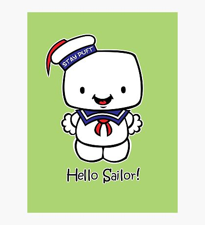 Hello Sailor! Photographic Print