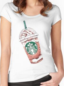 Starbucks coffe love Women's Fitted Scoop T-Shirt