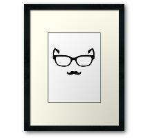 The Hipster Framed Print