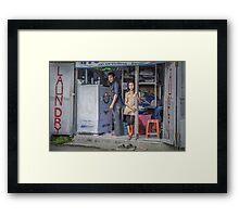 One Good Machine Framed Print