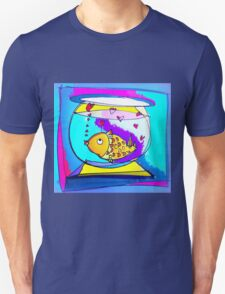 goldfish in love Unisex T-Shirt