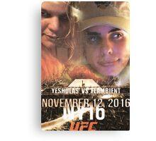 Yung Shula vs Flambient UFC 306 Canvas Print