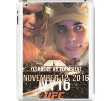 Yung Shula vs Flambient UFC 306 iPad Case/Skin