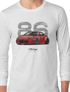 Toyota GT86 (red) Long Sleeve T-Shirt