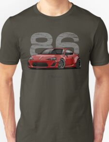Toyota GT86 (red) Unisex T-Shirt